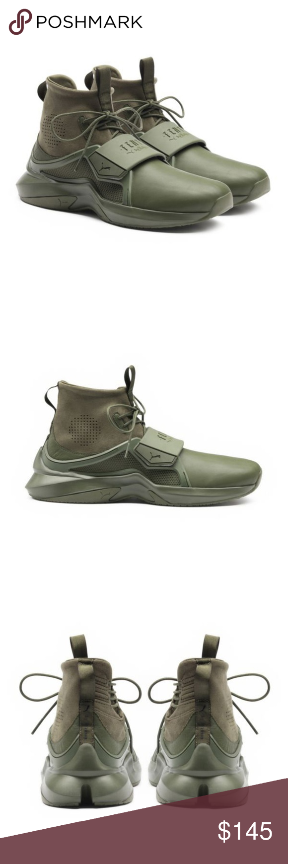 026559745ed388 NWOB Fenty by Rihanna Puma Trainer Hi Sneakers Rihanna s new trainer takes  the concept of runway