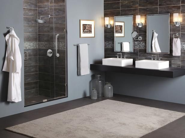 Accommodating Guest Bedrooms And Bathrooms Bathroom Collections - Plush towels for small bathroom ideas
