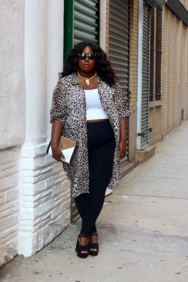 Leopard Vibes Lookbook With FTF – Everything Curvy and ...