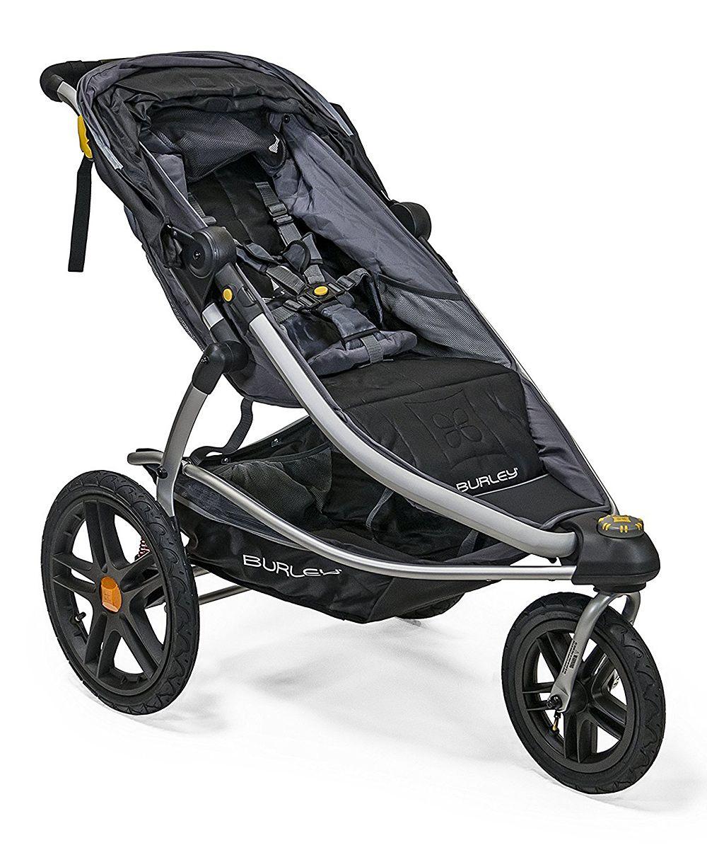 Black & Gray Solstice Jogging Stroller Baby jogger