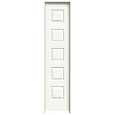 Jeld Wen 18 In X 80 In Rockport White Painted Left Hand Smooth