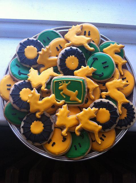 John Deere cookie platter | Flickr - Photo Sharing!