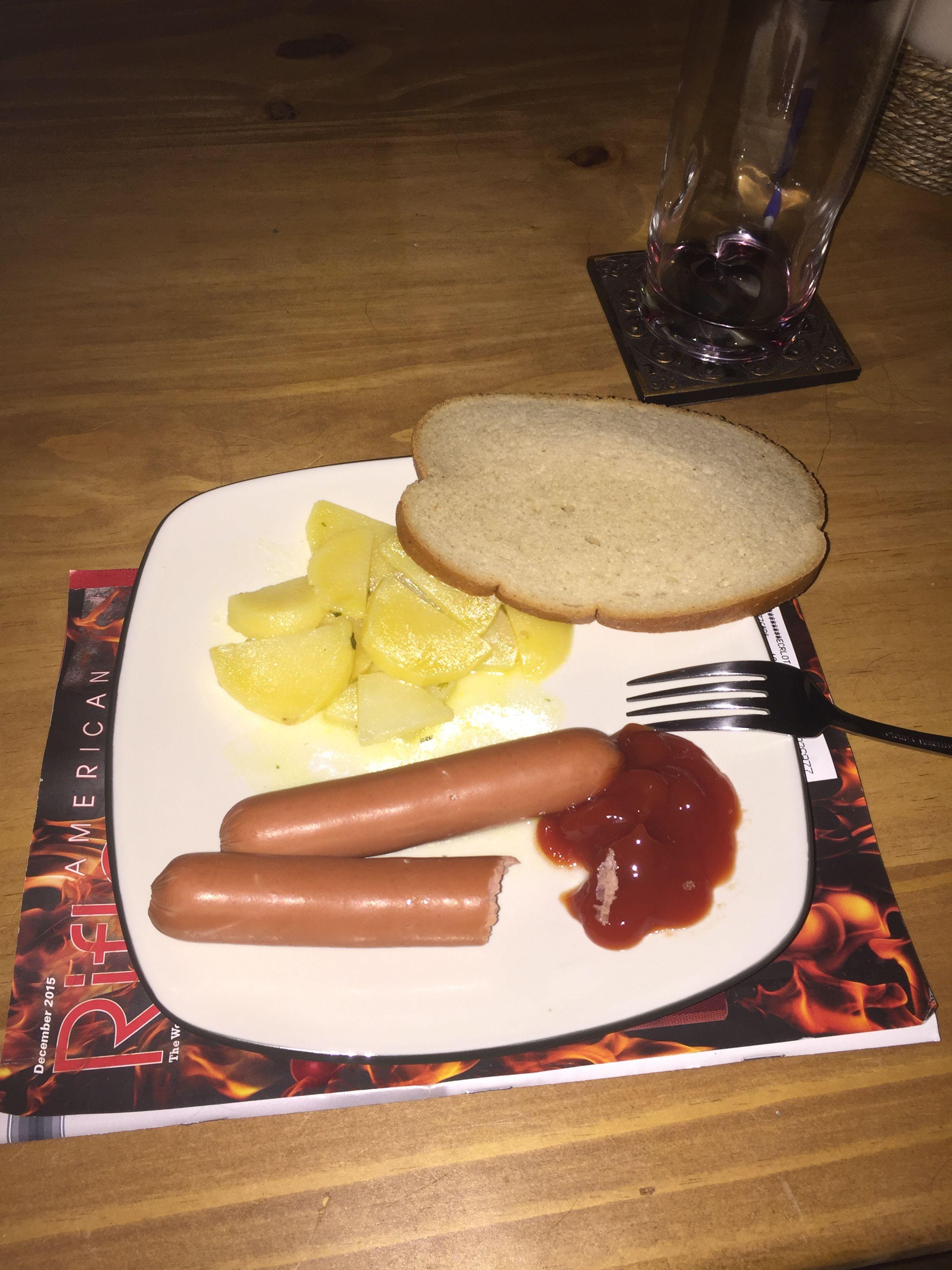 German lunch.