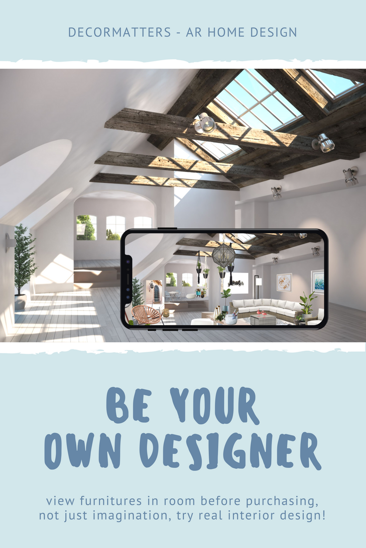 Not just imagination decormatters ar home design free app makes everyone an interior designer also rh pinterest