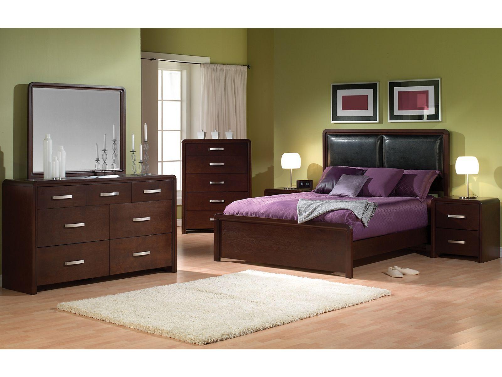 Brookside 6Piece Queen Bedroom Set Bedroom sets queen