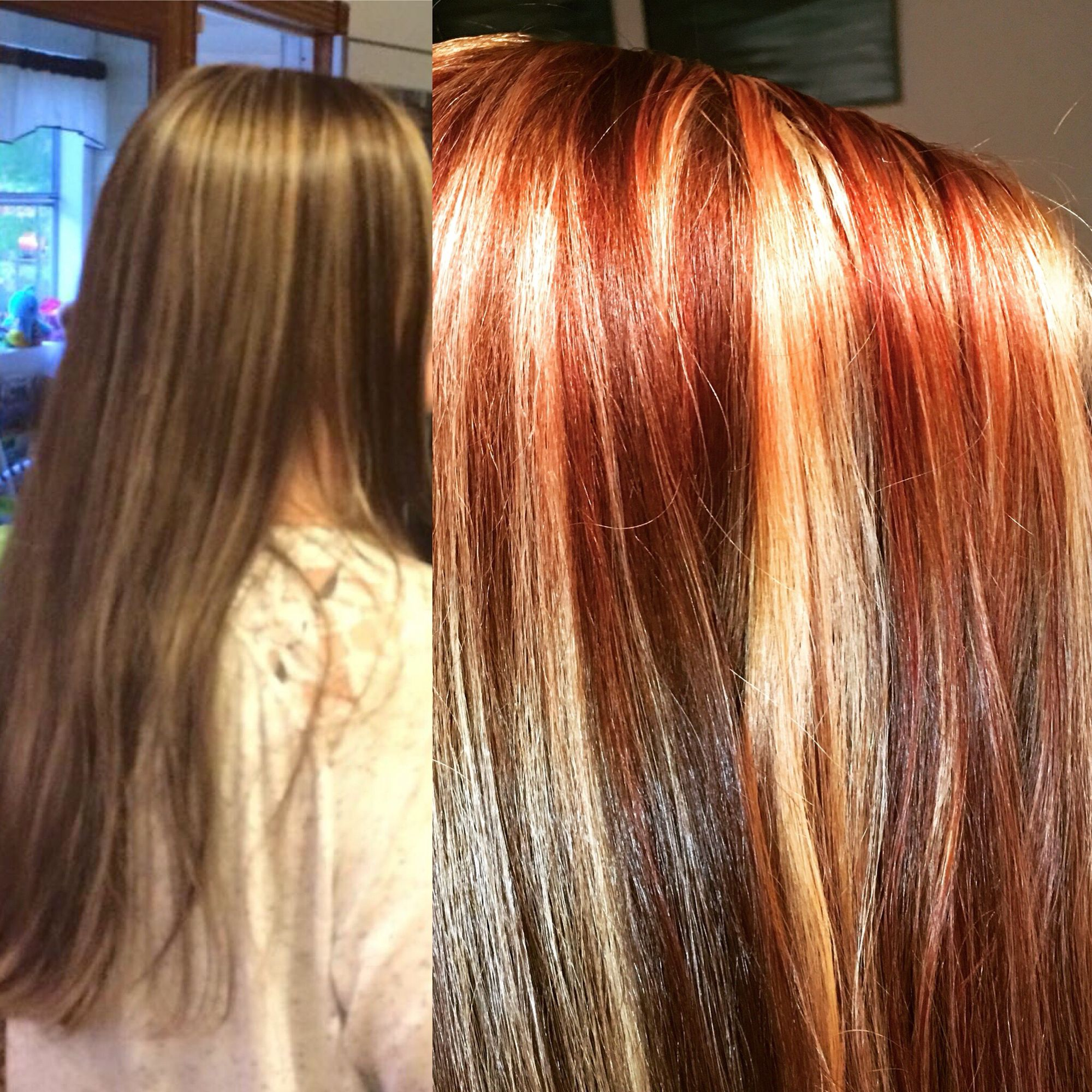 Copper Red Hair With Highlights Image Collections Hair Extensions