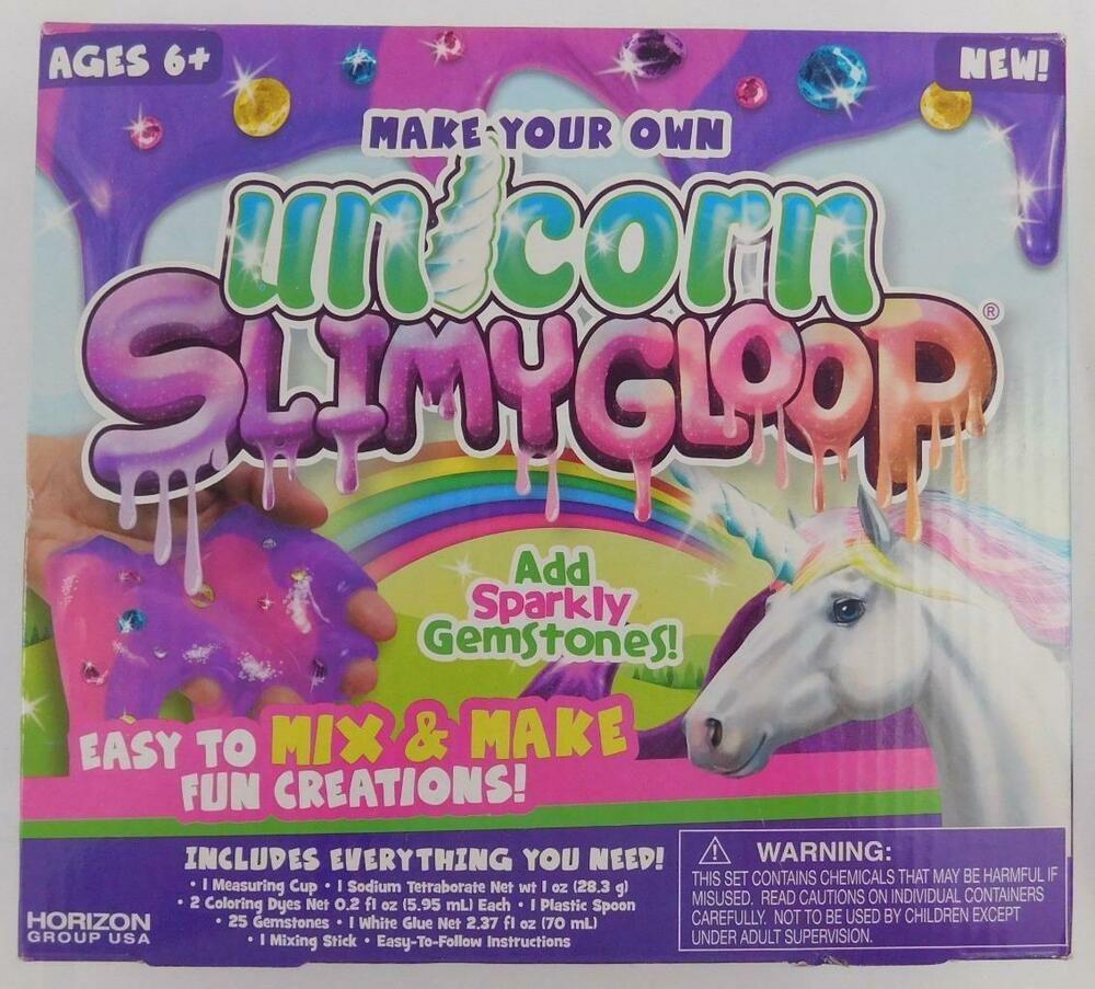 Make Your Own Unicorn Slimygloop Kit New Mix And Make Slime