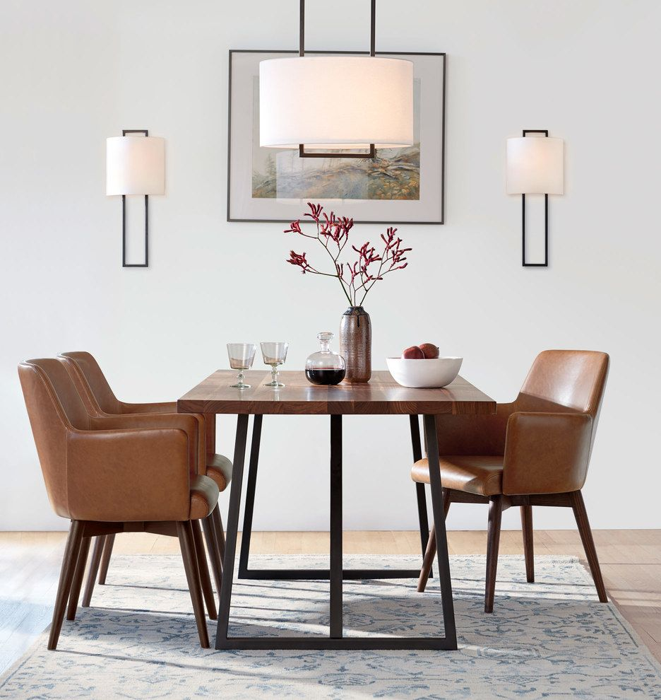 Merveilleux Canby Trestle Table   72in. Walnut   72in.W