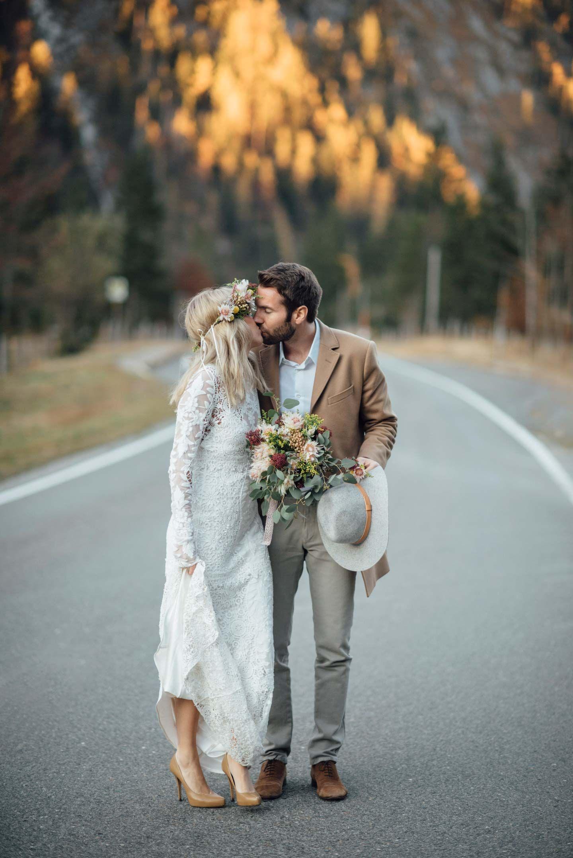 Eine Indian Summer-Braut in den Alpen   Pinterest   Ich freue mich ...