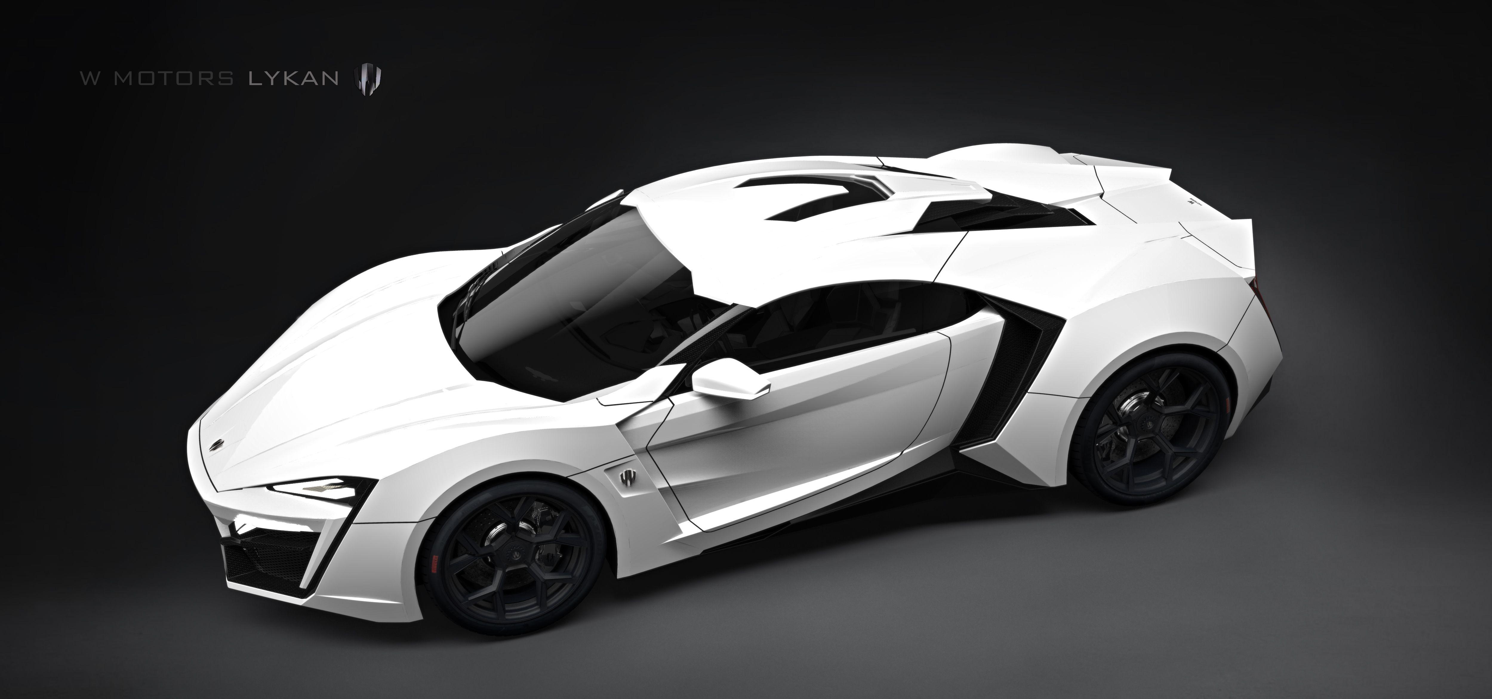 W Motors - HyperSport Lykan White
