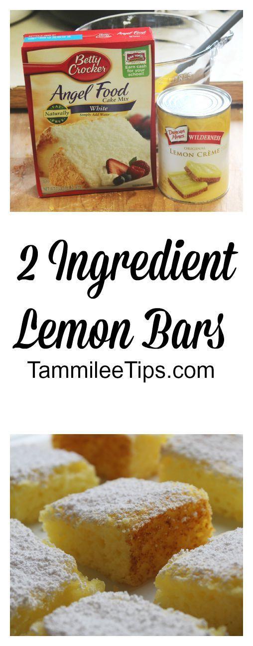 2 ingredient lemon bars recipe recipe recipe lemon and bar 2 ingredient lemon bars forumfinder Image collections
