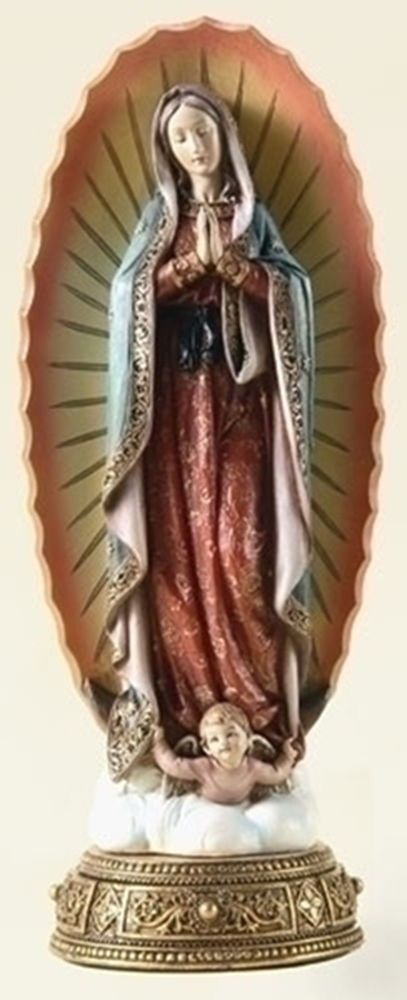 11.75 OUR LADY OF GUADALUPE Virgin Mary Home Garden Statue Josephs Studio  62811