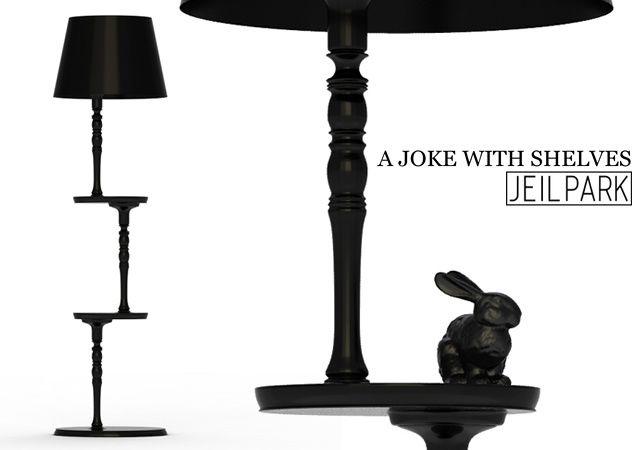 A Joke With Shelves Lamp