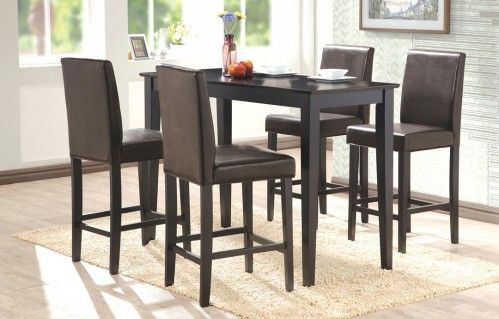 FISCHER Counter Table + 4 BILLUND Counter Chairs | Dining Set