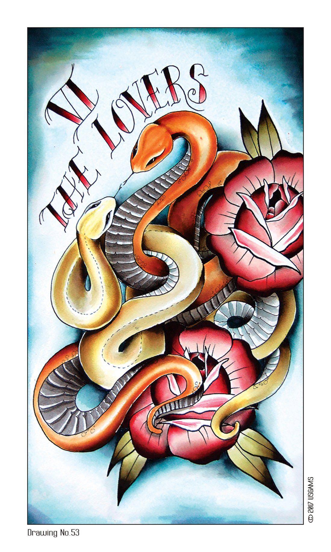 Eight coins tattoo tarot lana zellner 9781572819191