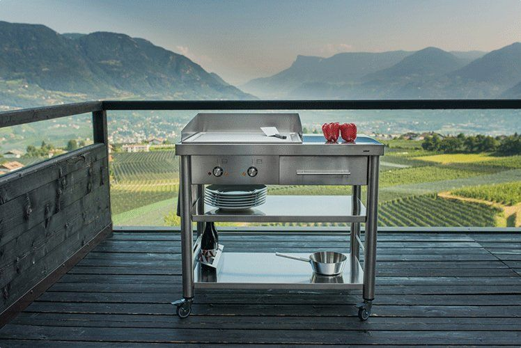 Une cuisine extérieure design, Boffi Photos, Cuisine and Marie claire - photo cuisine exterieure jardin