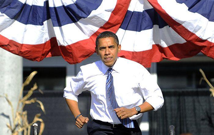 US-Staatschef Barack Obama ist zu seinem eigenen Auftritt bei der Plenarsitzung…