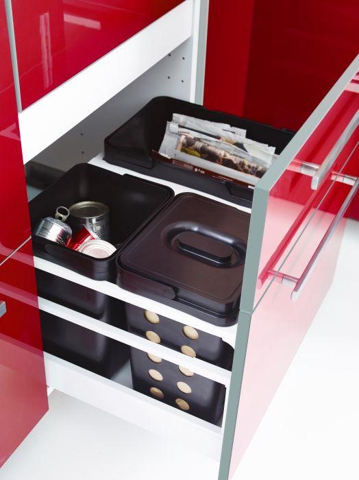 poubelles de tri d coration cuisine pinterest cuisine tri et catalogue. Black Bedroom Furniture Sets. Home Design Ideas