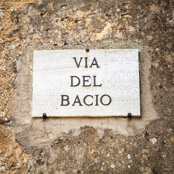 pienza via bacio san valentino pinterest italien toskana und worte. Black Bedroom Furniture Sets. Home Design Ideas