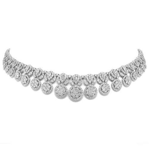 26.11ct 18k White Gold Diamond Necklace Allurez http://www.amazon.com/dp/B00C2TXFHM/ref=cm_sw_r_pi_dp_A1EQtb1Z2JQGDZT3