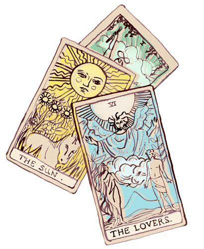 sketchy tarot cards http://moondialing.wordpress.com/