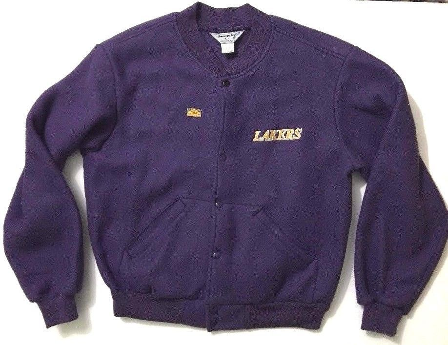 RARE Vintage Swingster Los Angeles Lakers Purple Jacket