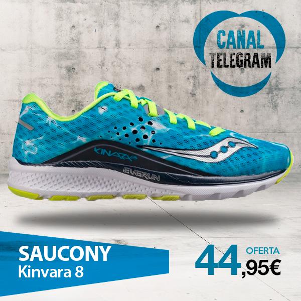 saucony kinvara 8 mujer azul
