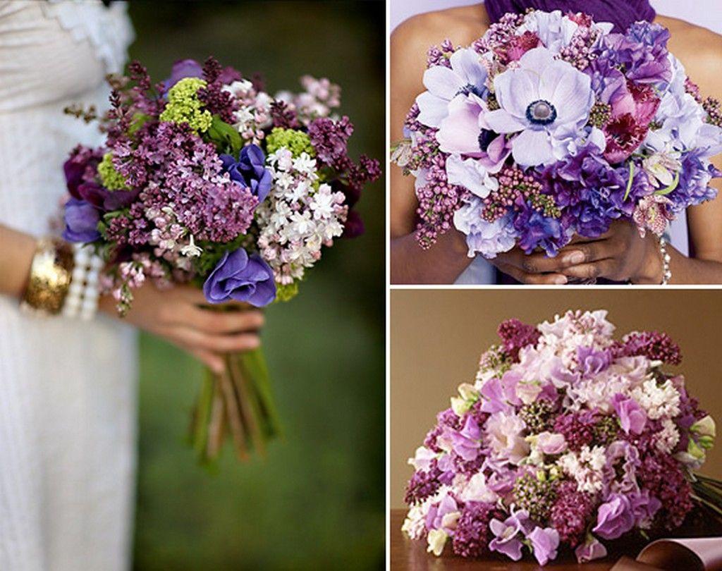 Flieder Hochzeitsstrauss Brautstrauss Pinterest Flower
