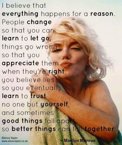 Good Quotes Marilyn Monroe: Marilyn Monroe Quotes Via Www.Anna-Taylor.co.uk And Www