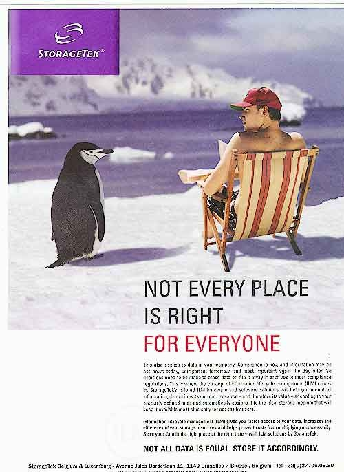 Animals in advertising - Penguins