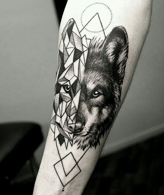 Tattoo Meaning Razor: Wolf Tattoo: Meaning And Interesting Ideas In 2020