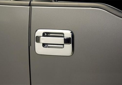 Ford Truck Accessory - Putco Ford F-Series Chrome Door Handle Covers