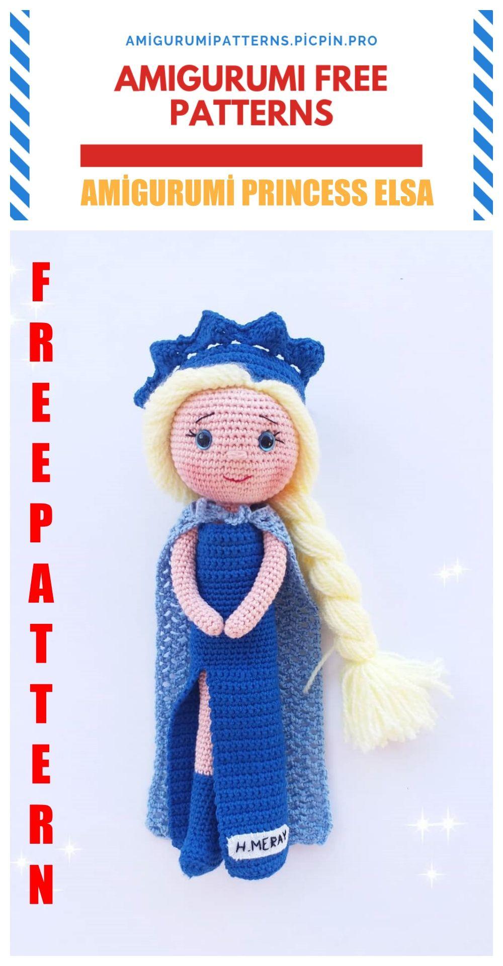 Frozen 2 Elsa Crochet Pattern   Frozen crochet, Crochet frozen ...   1920x1000