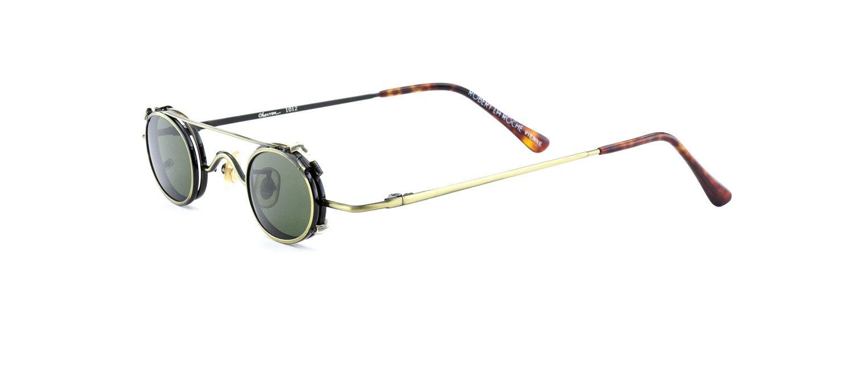 Armacao Mini Oculos De Sol Feminino Masculino Bronze Robert La