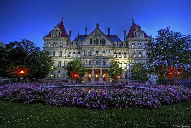 Capitol Building Albany Ny New