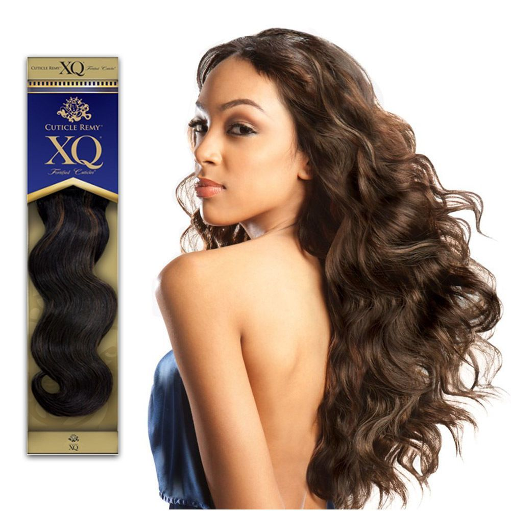 Shake N Go Xq Cuticle Remy S Wave 100 Human Hair Weave Extension 12