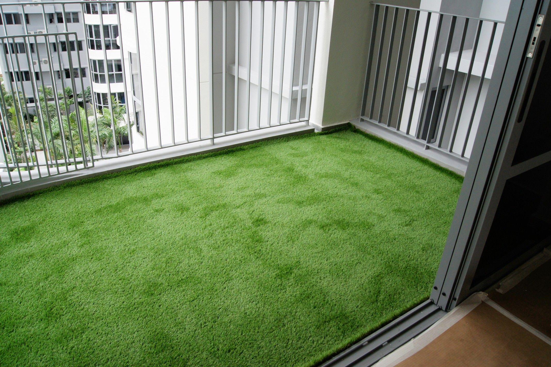 Transforming Balconies At Arc At Tampines Artificial Grass Balcony Artificial Grass Patio Apartment Balcony Garden