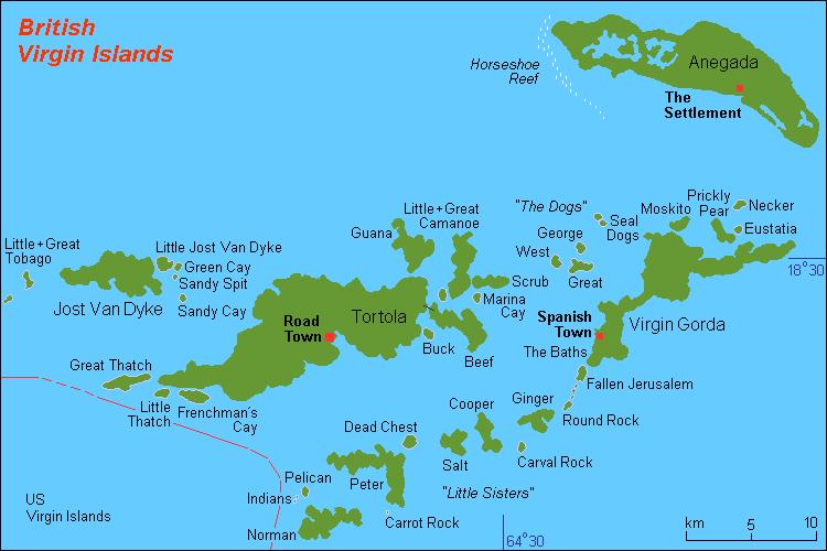 British Virgin Island Virgin islands Beach and Caribbean
