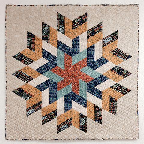 Jaybird Quilts Glimmer Quilt, made with the Super Sidekick ruler ... : quilt shops online - Adamdwight.com