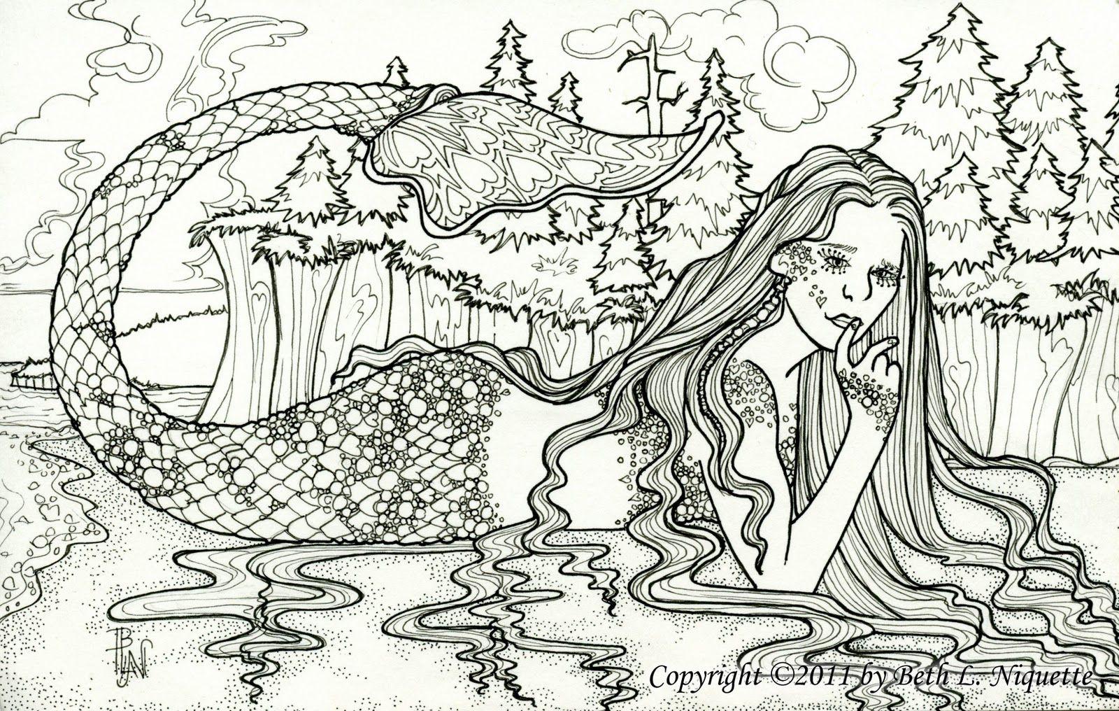 Pin de Patricia Iannone en Diseños - Sirenas | Pinterest | Sirenitas