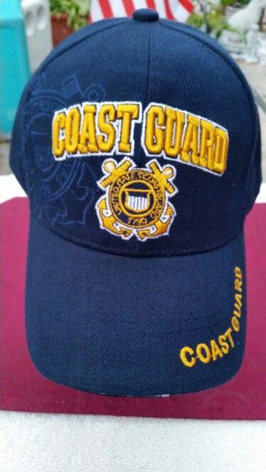 US COAST GUARD CAP - ADJUSTABLE/ VELCRO - 3D LETTERING - $ 8.99 + 1.99 S/H.  Ebay Account: patriciakessler