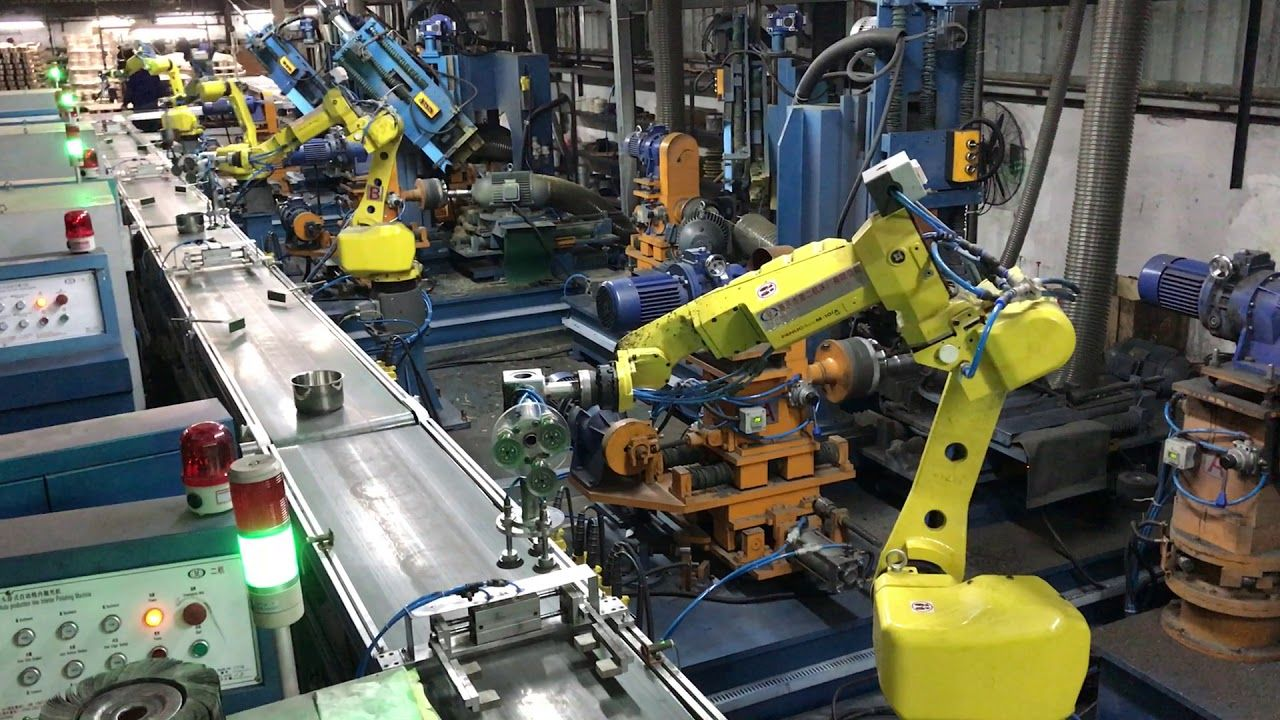 Sunglory CBR - automatic polishing with Fanuc Robot | How to