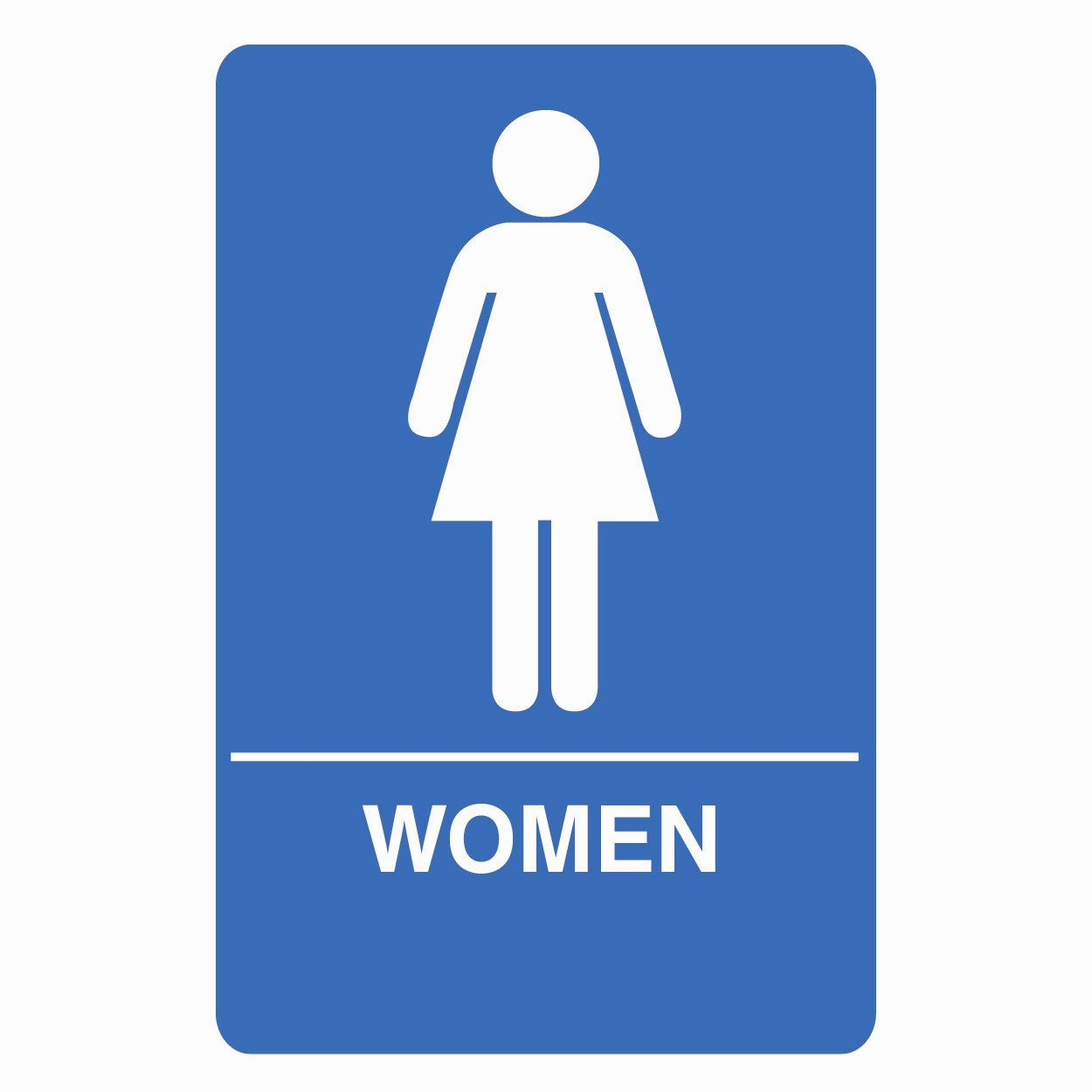 womens bathroom sign - Womens Bathroom