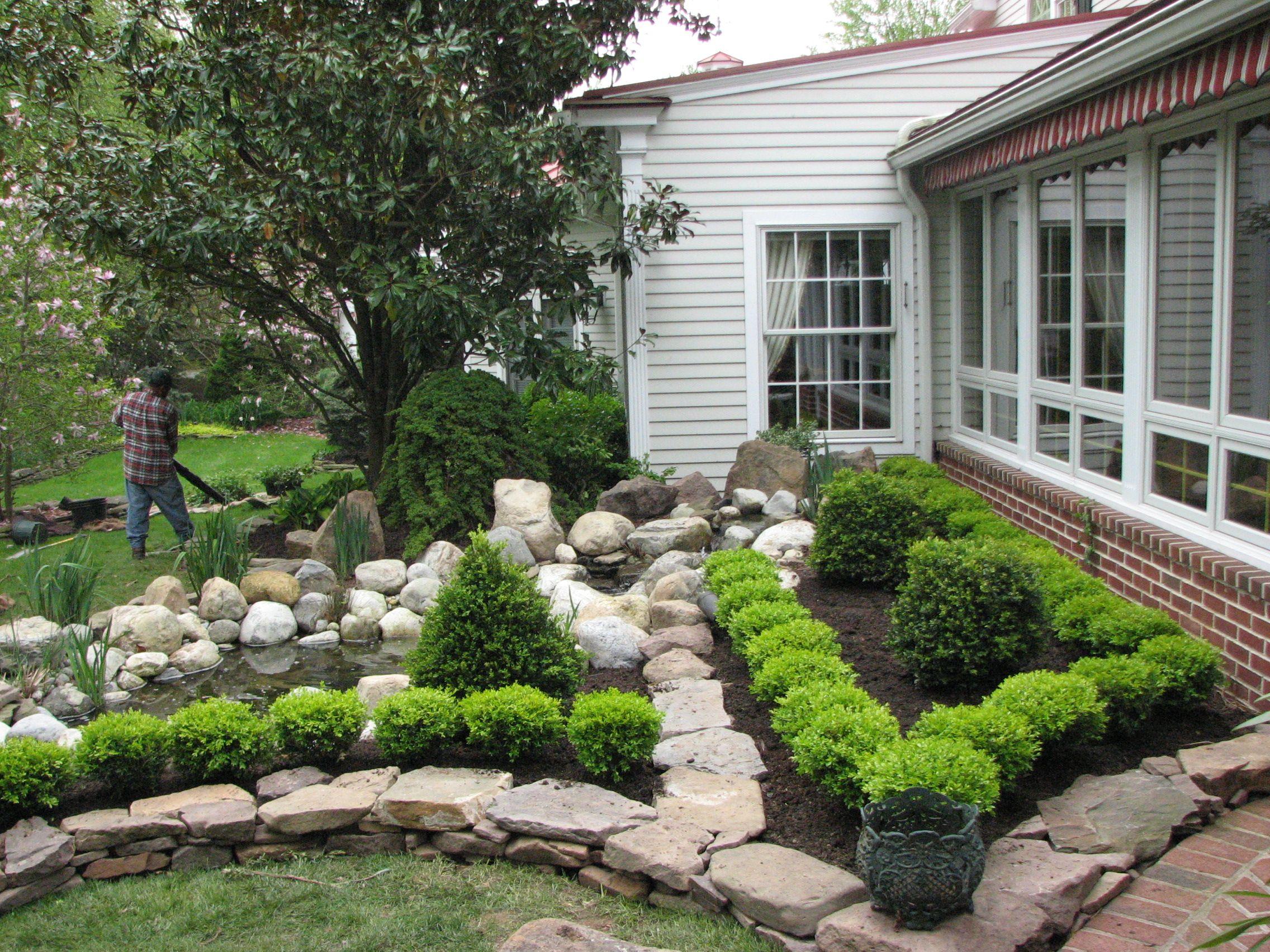 garden pond design stone creek landscaping landscaping tips