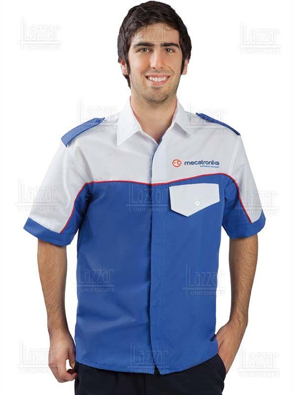 Camisas Hombre · Ropa De Trabajo · Seguridad · Lube - Camisolas Pantalones  Tipo Cargo 19096fb50dcb