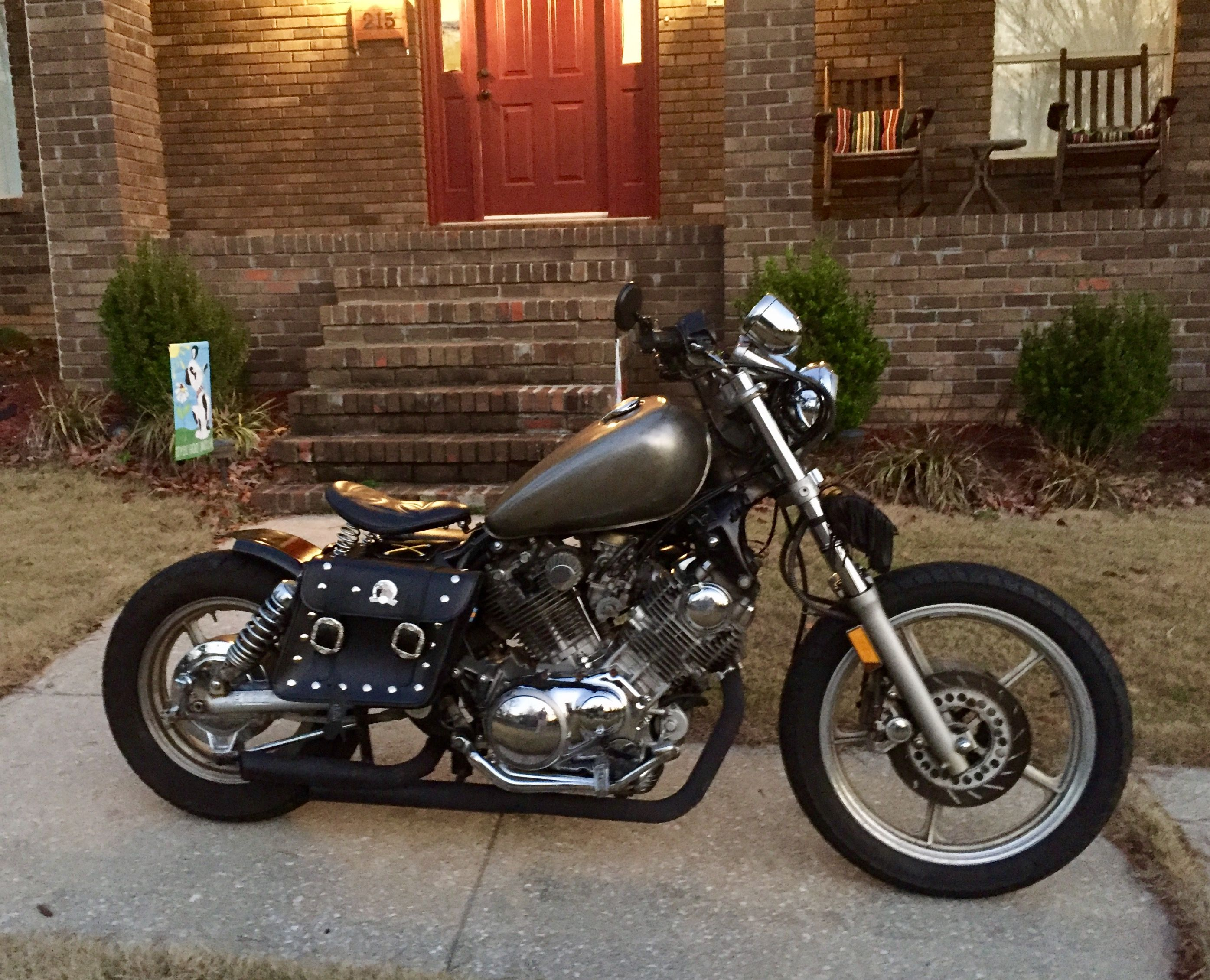 My 93 Yamaha Virago 750 Bobber