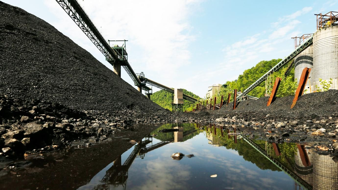 Coal's collapse could lead to a landscape of abandoned