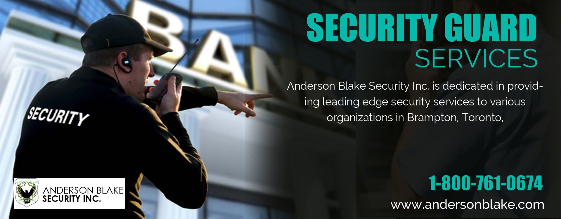 Pin by Anderson Blake Security Inc. on Toronto security