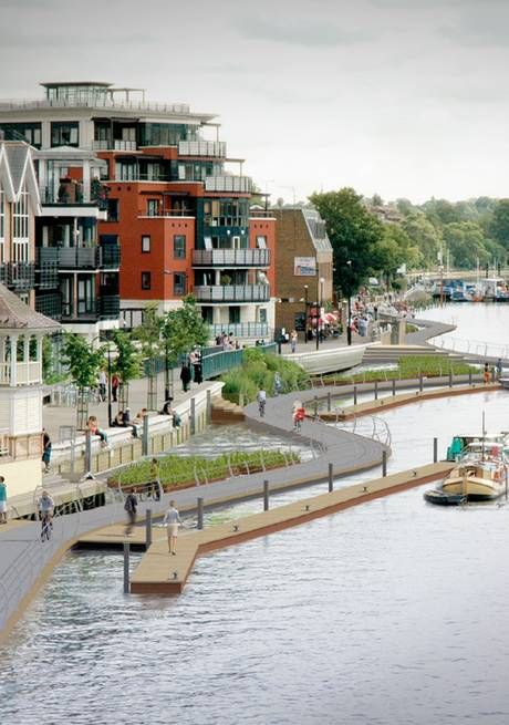 River ride how Kingstons boardwalk could look