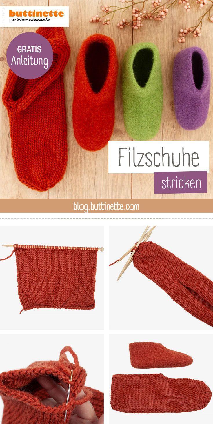 Photo of Kostenlose Anleitung: Hausschuhe filzen